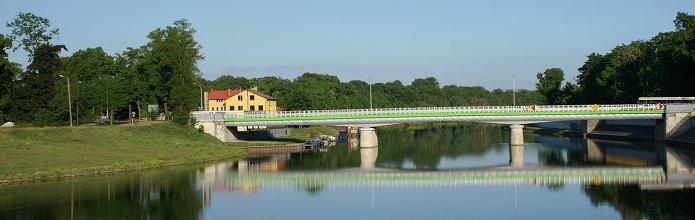 Most nad Odrą w Koźlu - fot. Bronisław Makowiecki